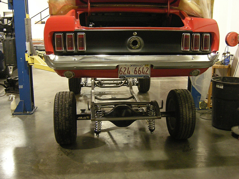 1964–1973 Mustang Chassis - Schwartz Performance