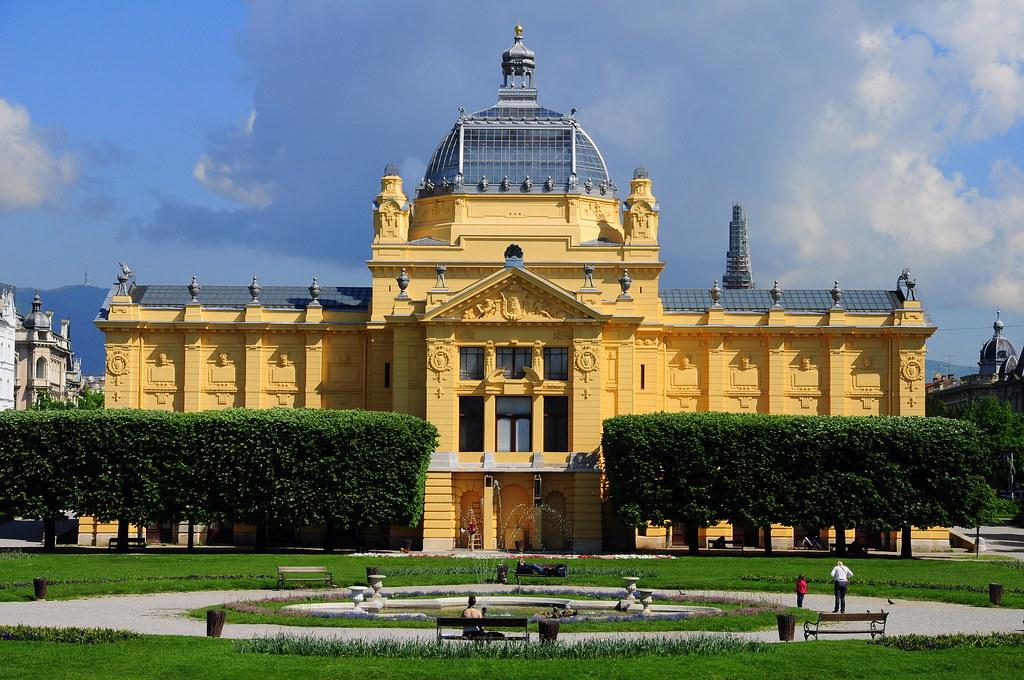 Umjetnicki Paviljon Zagreb Pier Luigi Flickr
