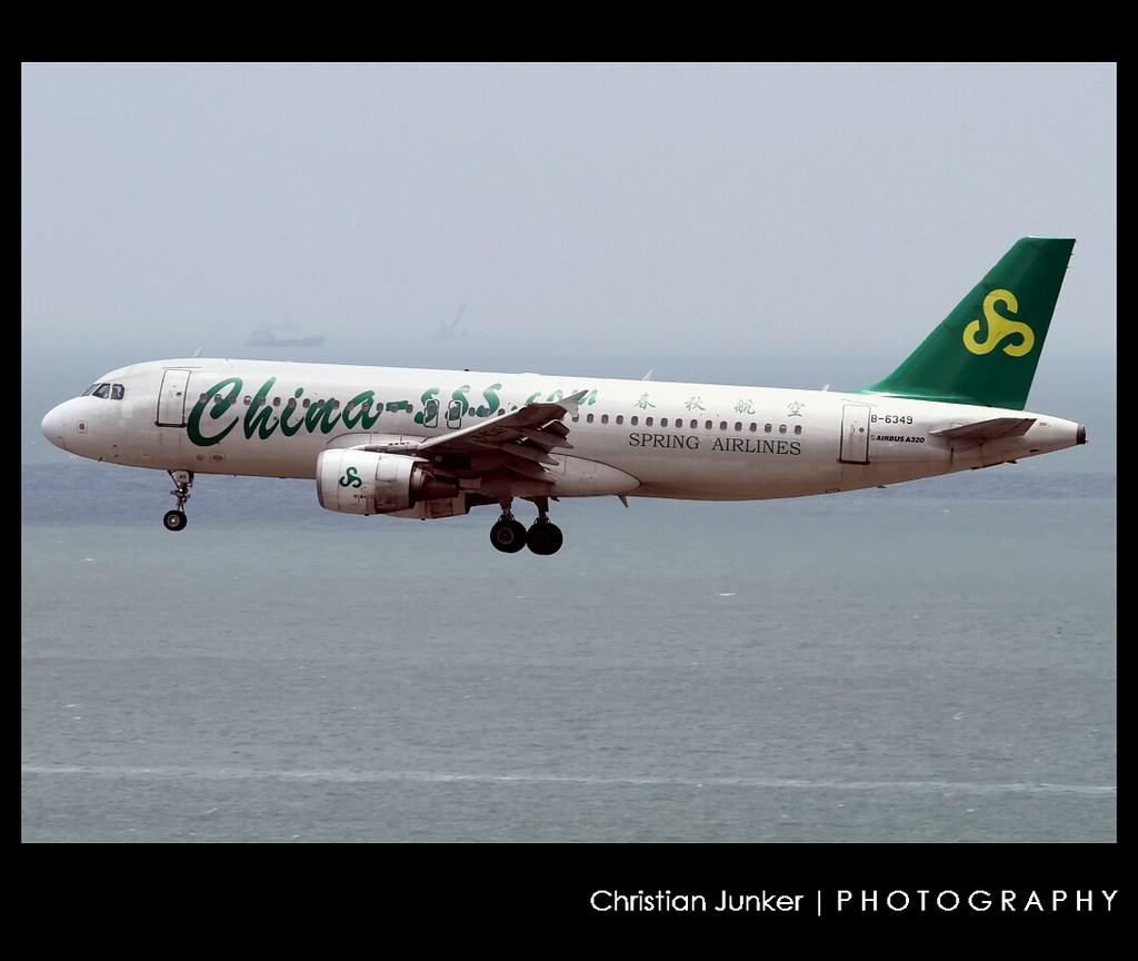 A320-214 | Spring Airlines | B-6349 | HKG