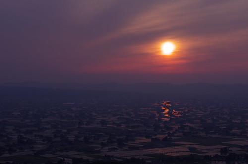 sunset toyama tonami k5 smcpentaxda★55mmf14sdm