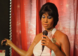 Aretha Franklin at Madame Tussaud's New York | by InSapphoWeTrust