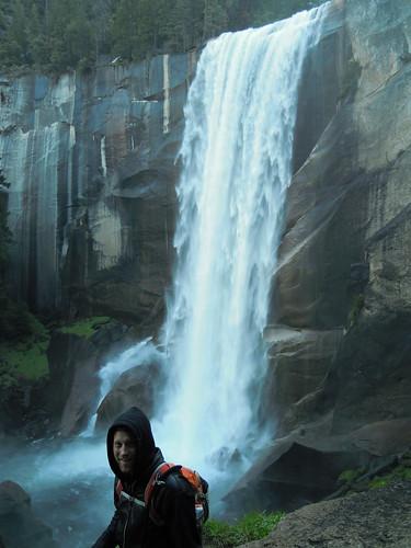 Hiking (and Climbing) Half Dome: Matt at Vernal Falls | by mormolyke