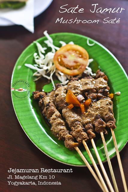 Mushroom Sate Sate Jamur Indonesia Eats Flickr