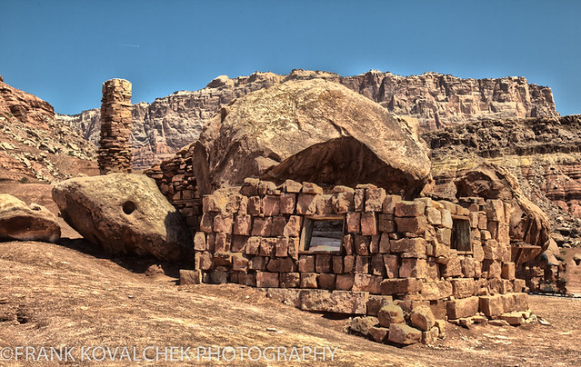 HDR shot of Cliff Dwellers, Arizona