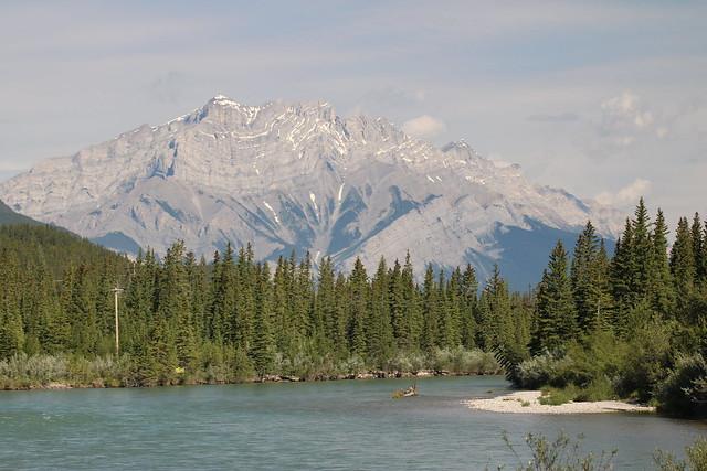 Canmore Alberta Canada day walk around 2016