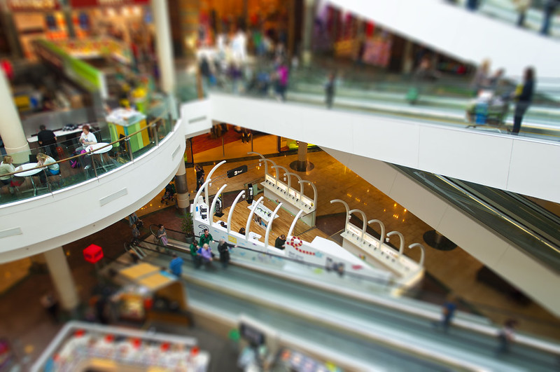 Dundrum shopping centre -  Miniature Fake