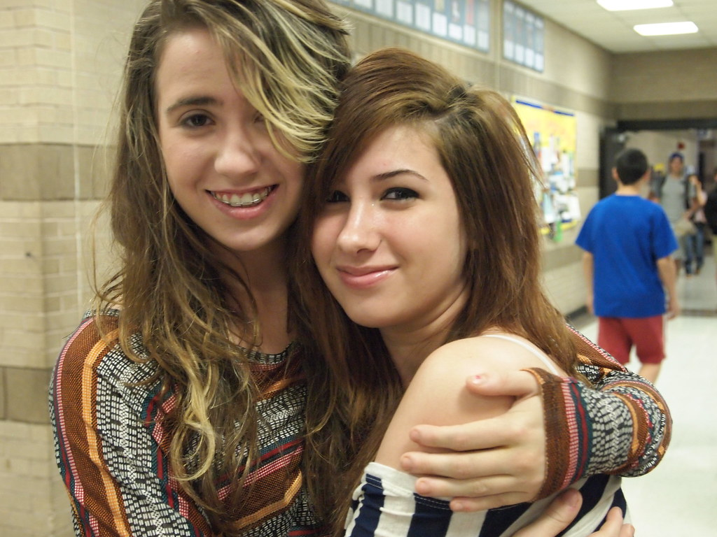 Lesbian Couples | they wanted to be cute, and this is what