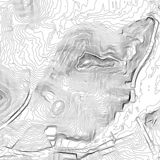 Bernal Heights 5-foot elevation contours | by Eric Fischer