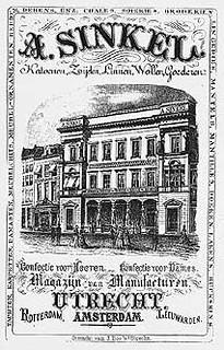 Poster Winkel van Sinkel. Coll. Het Utrechts Archief.