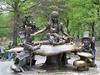 New York – bronzová Alenka v říši divů v Central Parku, foto: Luděk Wellner
