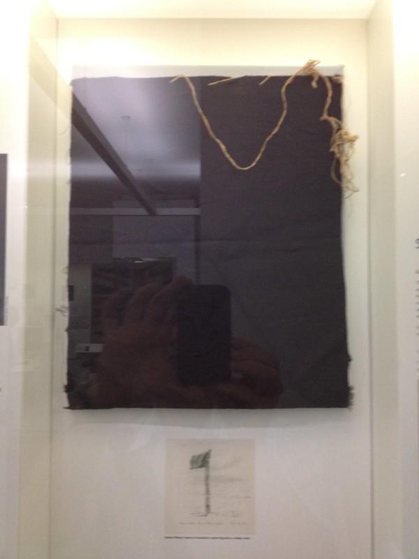 Amundsen's Black Flag left at the South Pole