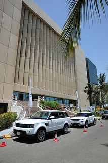Land Rover Display and Test Drive Jeddah