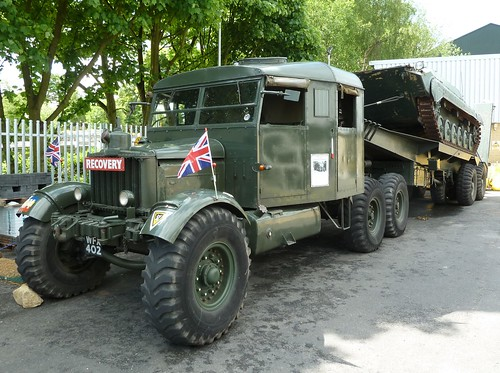 WFX 402 - 1944 Scammell Pioneer 30 Ton Tank Transporter | by homer----simpson