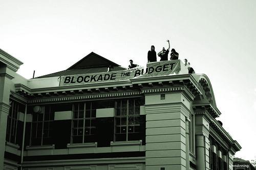 Blockade the Budget