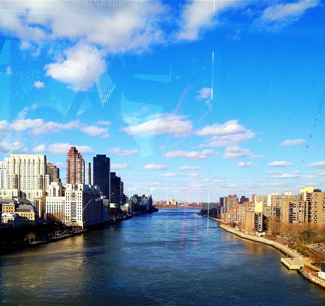 East River from the Roosevelt Island Tram