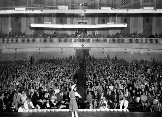 Concert inside the City Hall Brisbane, Queensland, 1949