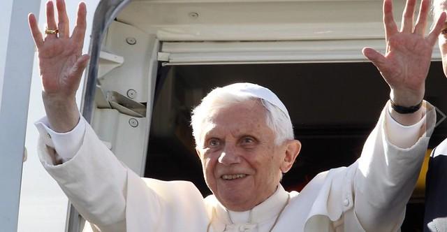 Papa Benedicto XVI en México