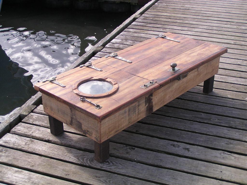 - Ship Door Coffee Table Built From A Salvaged Ships Door Ww… Flickr