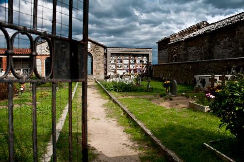 Cemetery atop Isola Maggiore