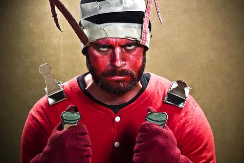 Nick Sommer as Bakk | by VBuckley.com