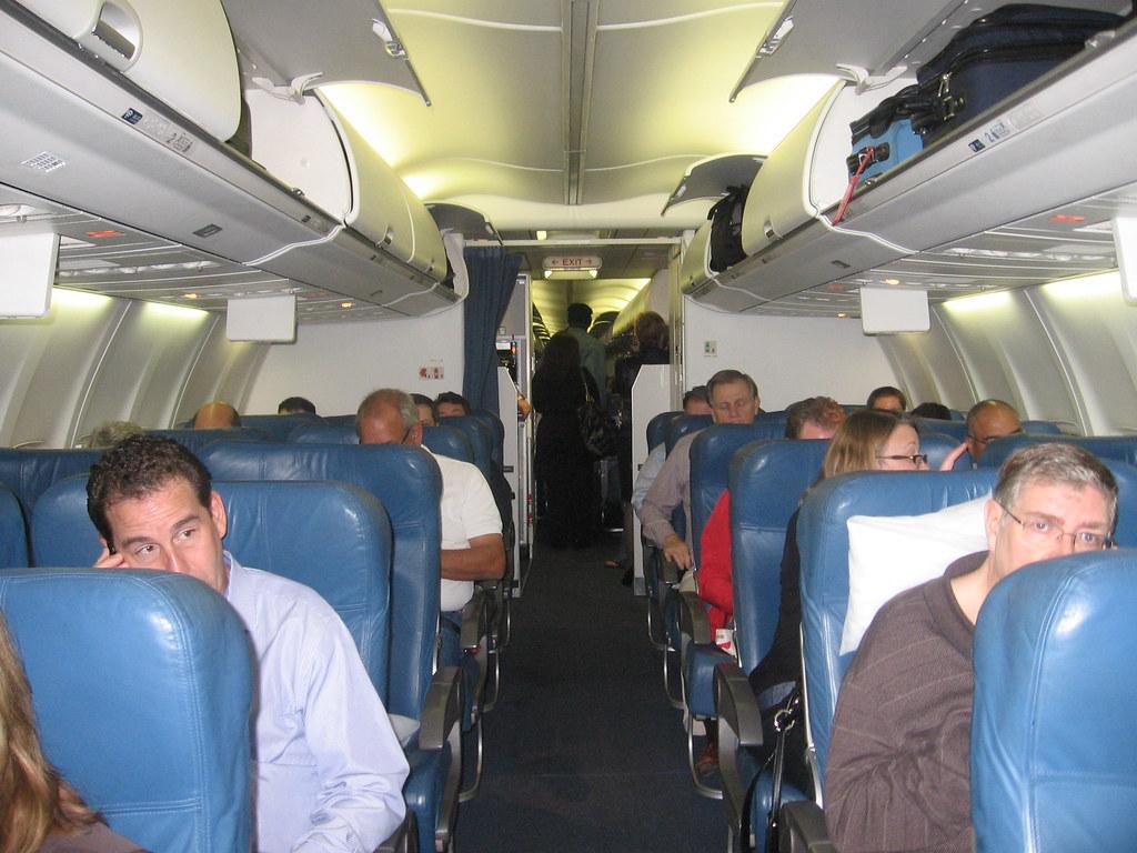 Delta 757 300 Cabin Fll Atl November 2011 A Very Nice And Flickr