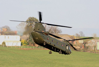ZH893 CH-47. 08/02/2008 Exeter.