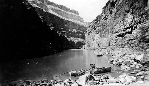 17249 Grand Canyon Nat Park: Historic River Photo