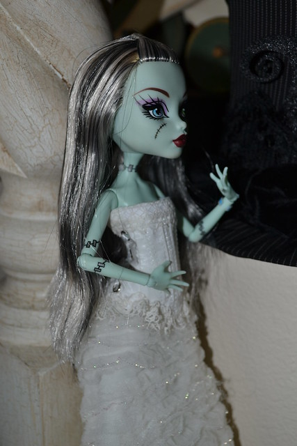 Frankie holding her breath