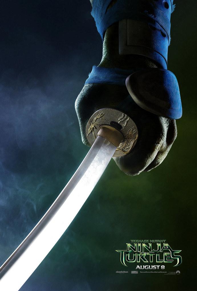 "PARAMOUNT :: ""TEENAGE MUTANT NINJA TURTLES"" ; 'LEONARDO' ..teaser poster  (( 2014 ))  [[ Courtesy of PARAMOUNT ]] by tOkKa"