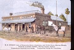 Murray Street 109 Prince Albert Hotel c1895
