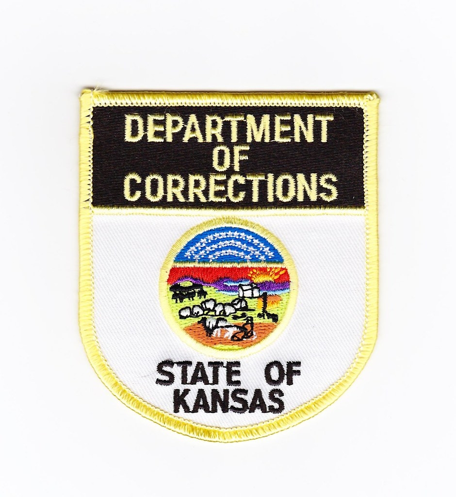 Ks Kansas Department Of Corrections Patch For Waubonsee