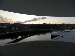 Desde la ventana del Niemeyer