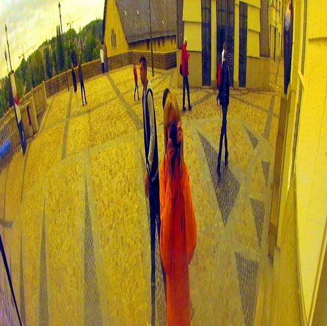 Giacometti meets Kandinsky