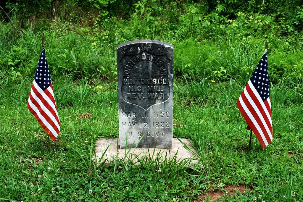 Revolutionary War Memorial - John Norris Jr,