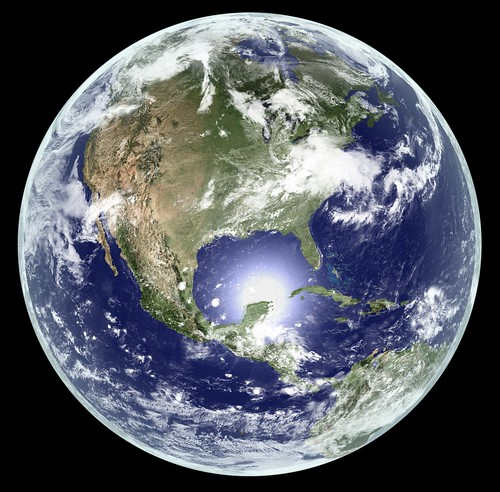 Earth - Global Elevation Model with Satellite Imagery (Version 2) | by Kevin M. Gill
