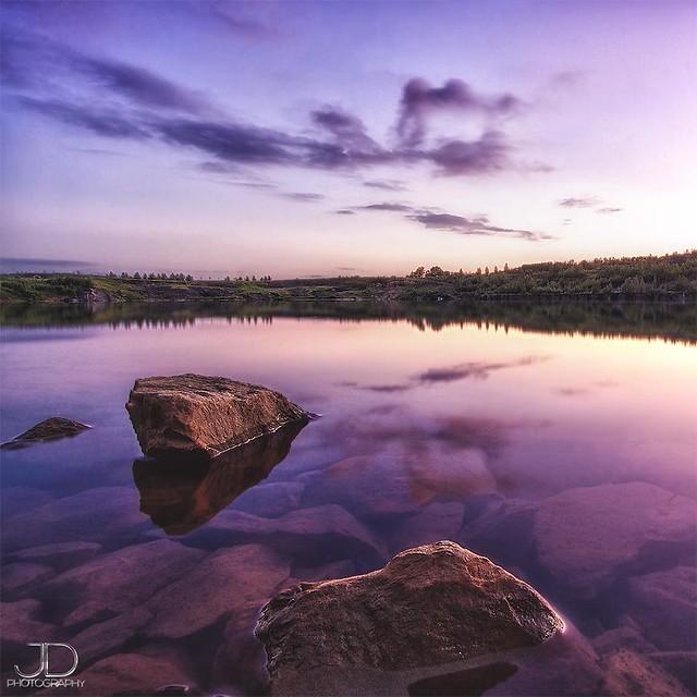 Stone Quarry Sunset
