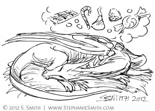 Doodleswap #12 Tiny Dragon #2 | by artsteph6
