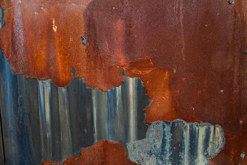 84 Rusty Color Metal texture - 30 # texturepalace