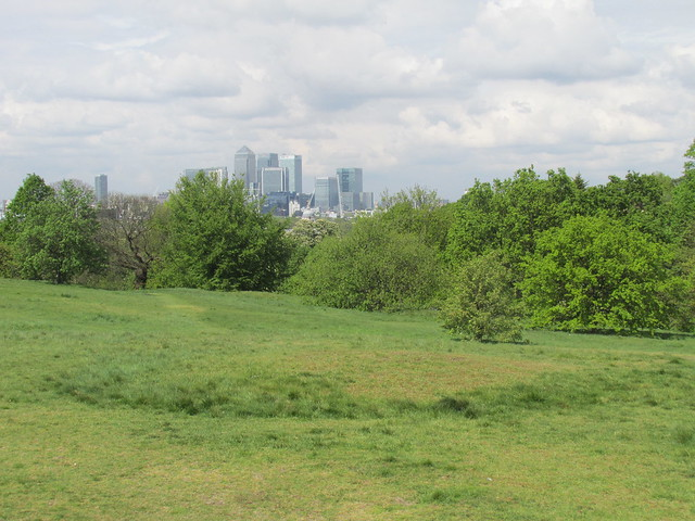 Anglo-Saxon Burial Mounds, Greenwich