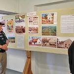 Die 250-jährige bewegte Geschichte in der Heimatausstellung, die an Höhen, Tiefen, Beispielhaftem und Beispiellosem kaum Parallelen findet.