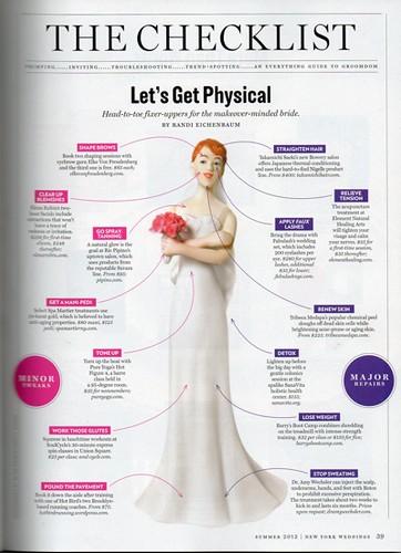New York Magazine : Bridal Issue