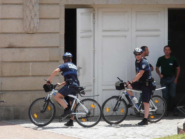 municipal tres sportif, Municipal very sporty, Kommunale Polizei sehr sportlich