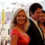 Katherine Kelly Lang (Brooke), Ronn Moss (Ridge) and Jacqueline Macinnes Wood (Steffy)