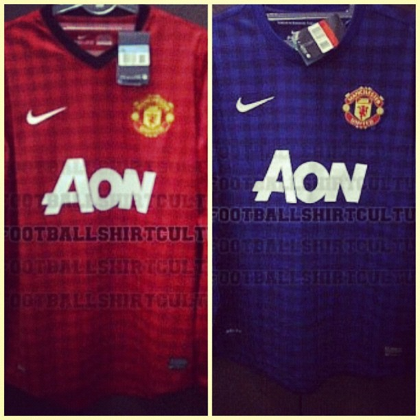 official photos 3f16c 50757 New Manchester United home and Away kit 12/13 #manchesteru ...