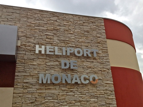 Monte Carlo - Monaco - Heliport - Departing to Nice - France - Photo taken with my iPhone | by Fabio - Miami