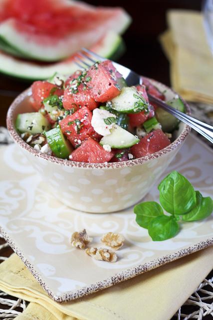 Watermelon Cucumber Salad-7