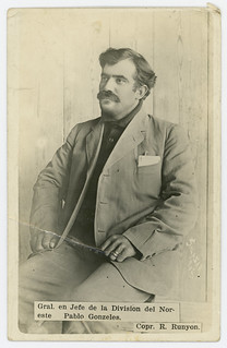 Gral. en Jefe de la Division del Noreste, Pablo Gonzeles [sic].