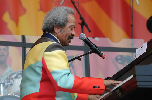 Allen Toussaint. Photo Leon Morris.