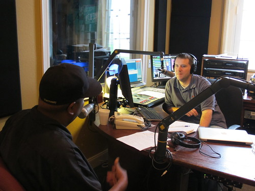 Action Jackson Taking it to the Streets on Sherwood's show. Photo by Briana Prevost
