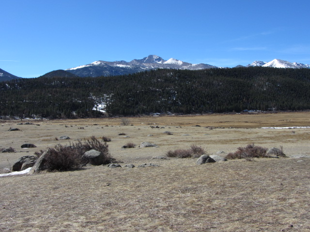 Longs Peak at Moraine Park
